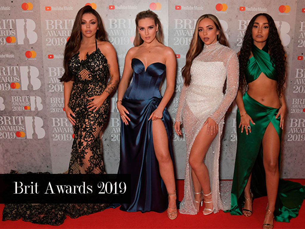 Look Little Mix Brit Awards 2019