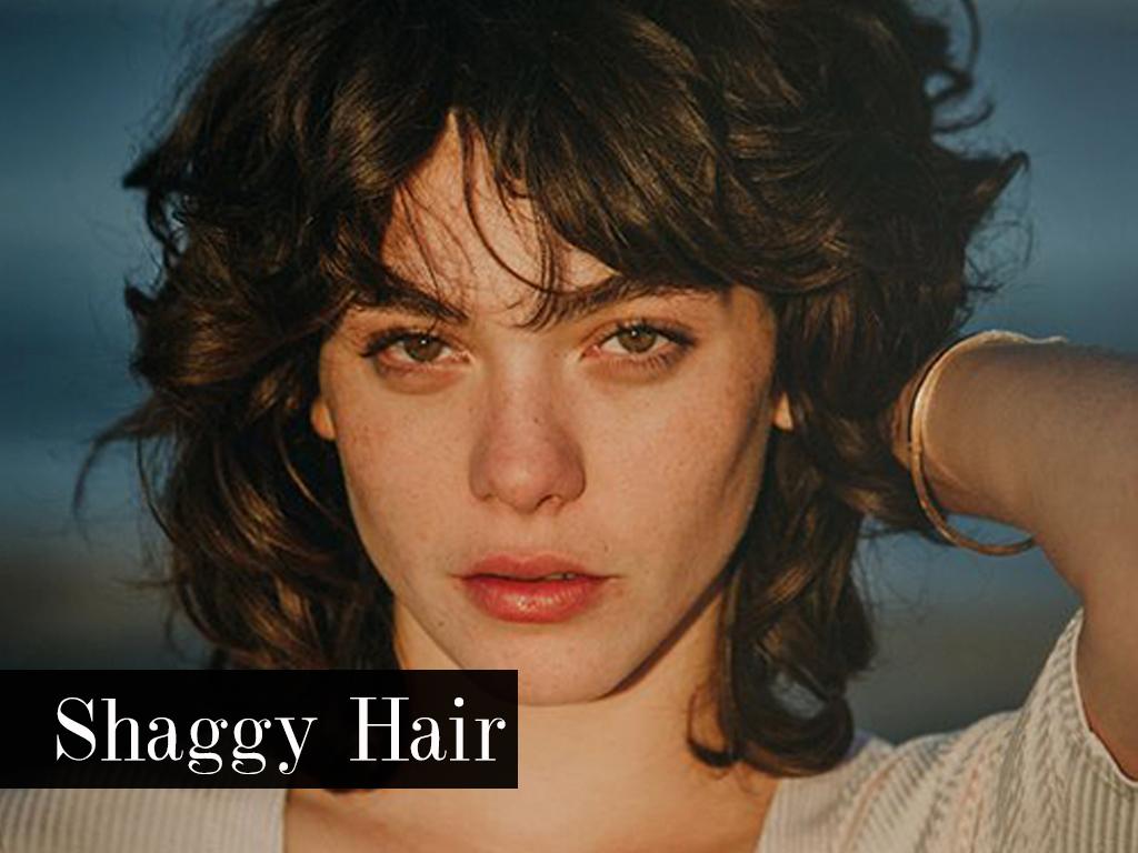 look shaggy hair
